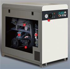 实验室用静音无油空压机