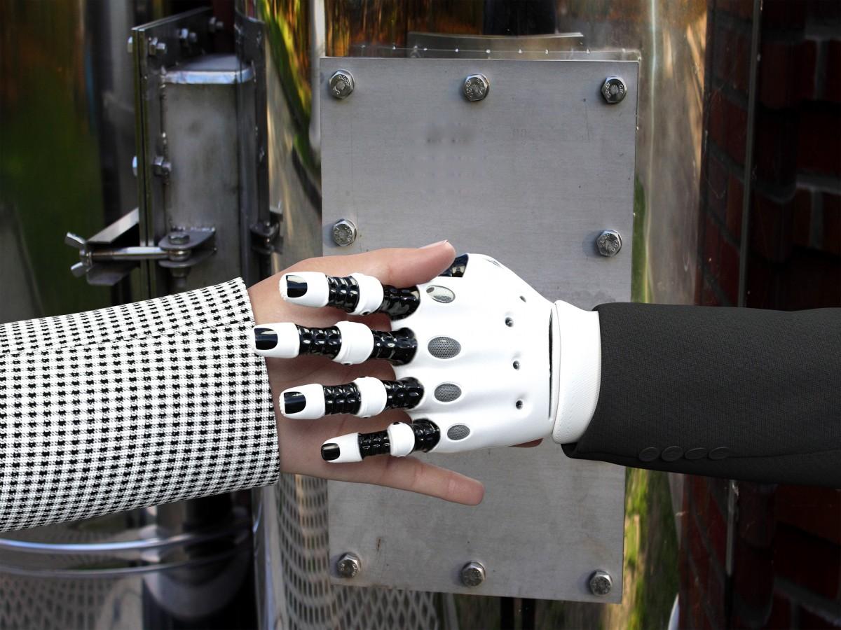 人造皮肤 让机器拥有触觉